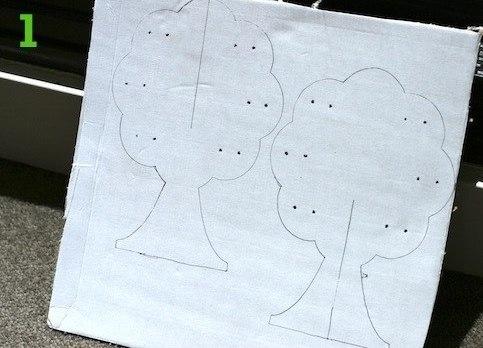 Как своими руками сделать дерево для украшений