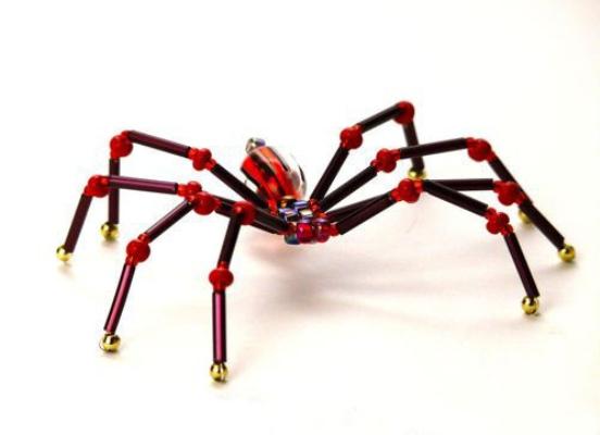 паук из бисера24