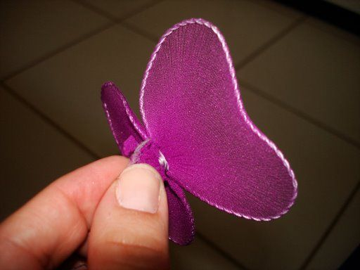 Бабочка своими руками из