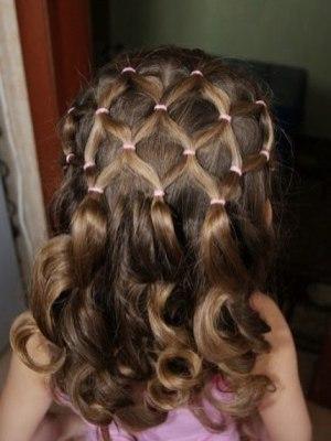 Детские прически на длинные волосы10