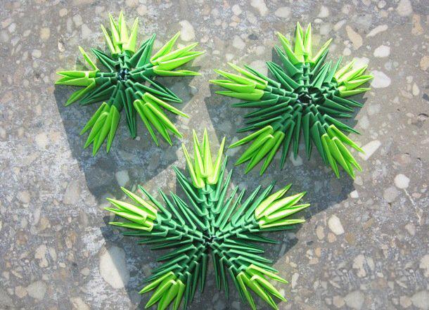 Мастер класс оригами елка - Vendservice.ru