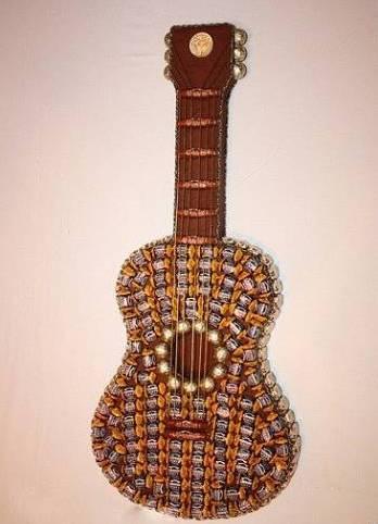 Гитара своими руками поделка