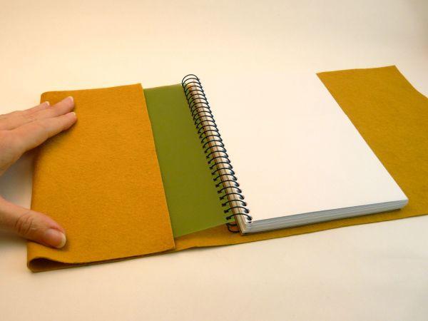 Как украсить обложку тетради своими руками