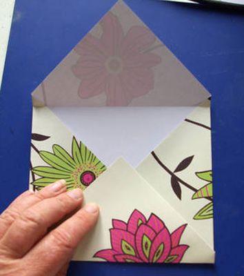 Изделия из бумаги конверт