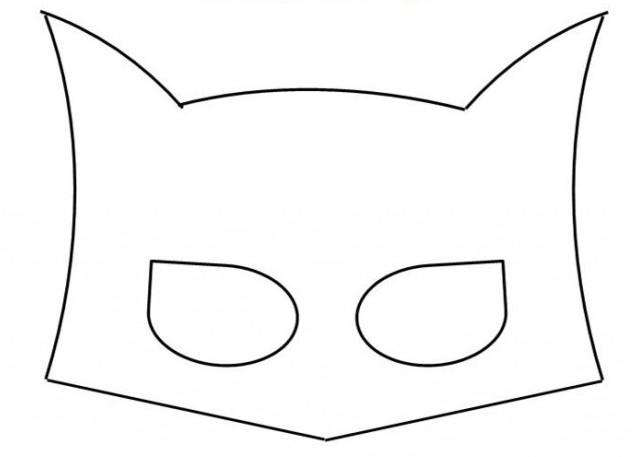 Маска бэтмена сшить своими руками пошаговая инструкция 7