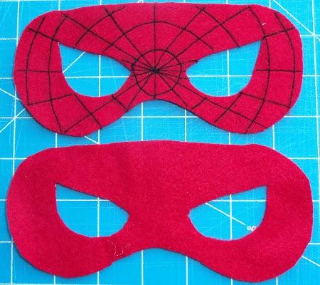 Как сделать маску человека паука