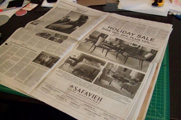 Газета своими руками быстро