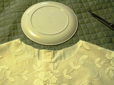 Как сшить блузку своими руками из кружева