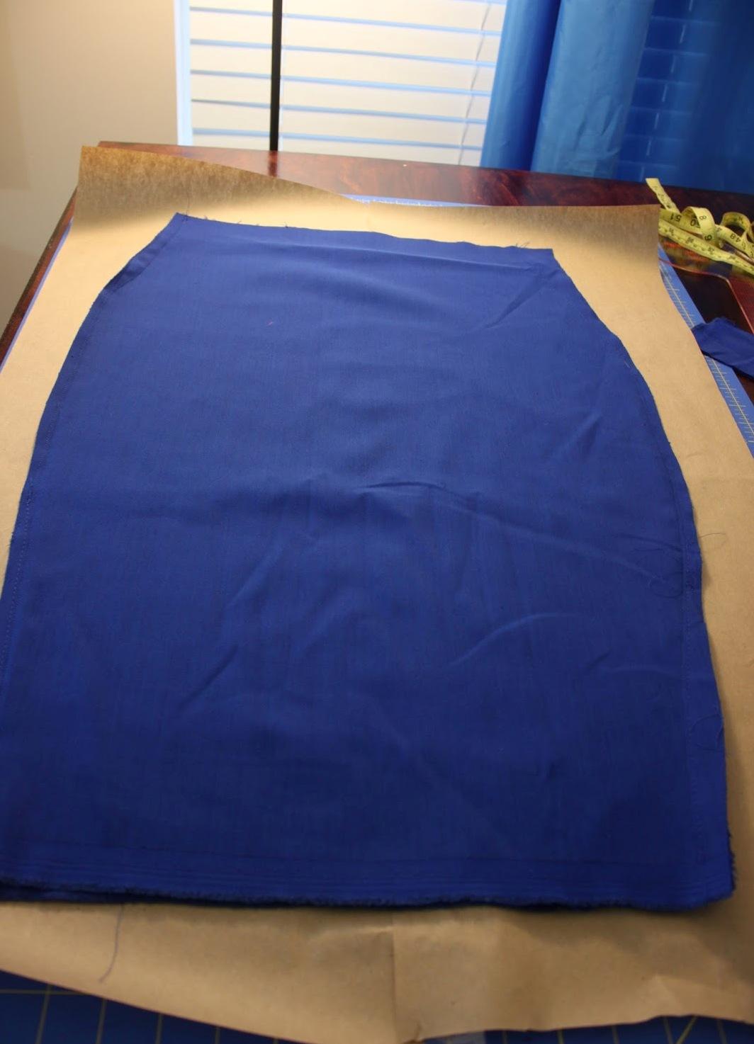 Как сшить юбку из трикотажа без выкройки