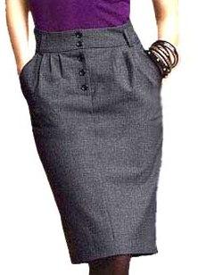 Как пошить юбку с карманами