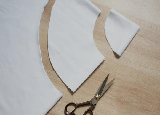 Как кроить юбку с воланами
