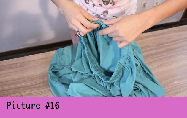 юбка в пол связанная крючком