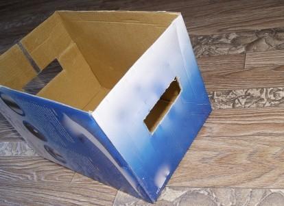 Как сделать коробку для книг своими руками