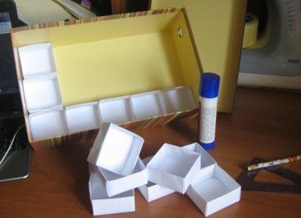 Как сделать коробку своими руками для резинок