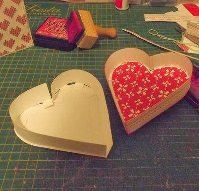 Как сделать два сердца своими руками