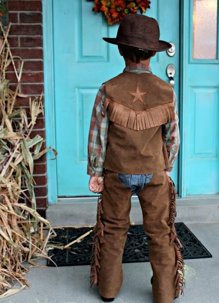Новогодний костюм ковбой своими руками фото