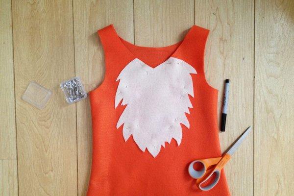 Как сделать своими руками костюм лисы