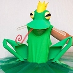 Костюм лягушки для мальчика своими руками