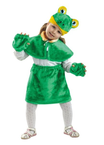 Сшить костюм лягушки своими руками