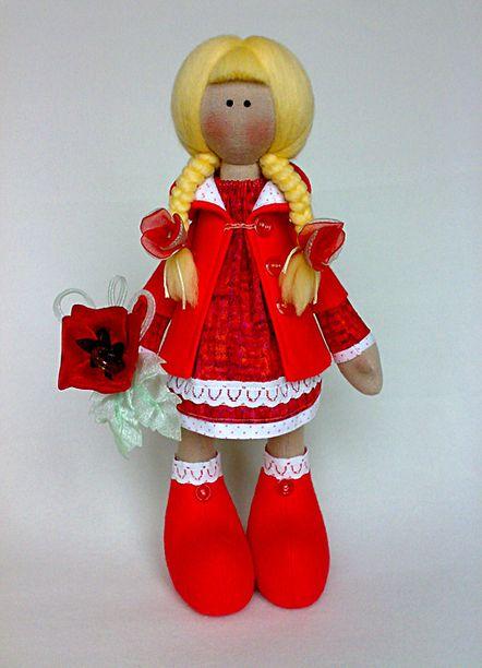 Шьем куклу с большими ногами мастер класс поделка #11