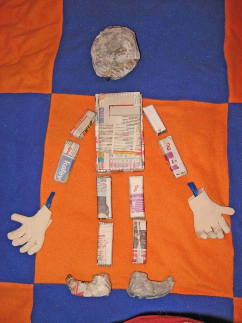 Марионетки своими руками из ткани фото 798