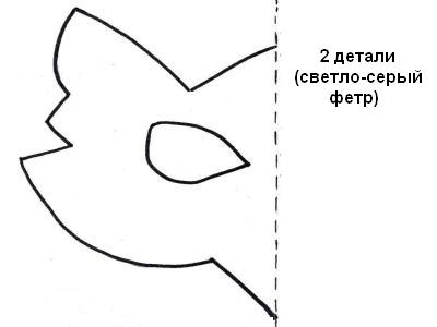 Как сделать маску волка из картона своими руками