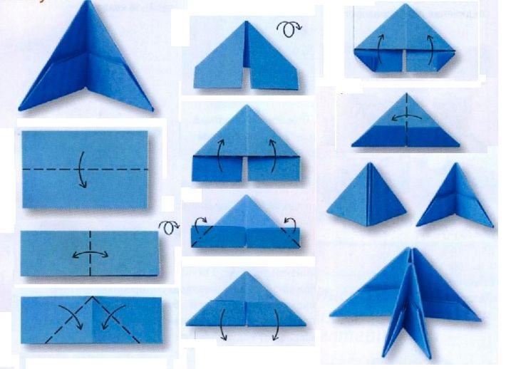 Как сделать треугольников из бумаги