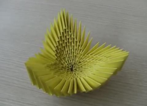 Модульное оригами - тюльпан10