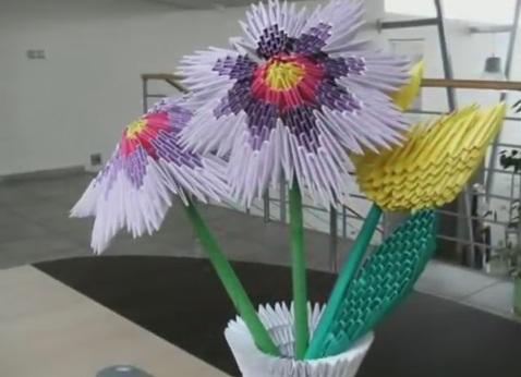 Модульное оригами - тюльпан20