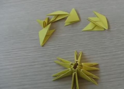 Модульное оригами -