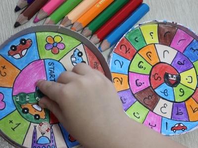 Настольная игра для детей своими руками