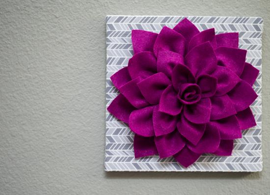 Картины цветы из ткани объемные