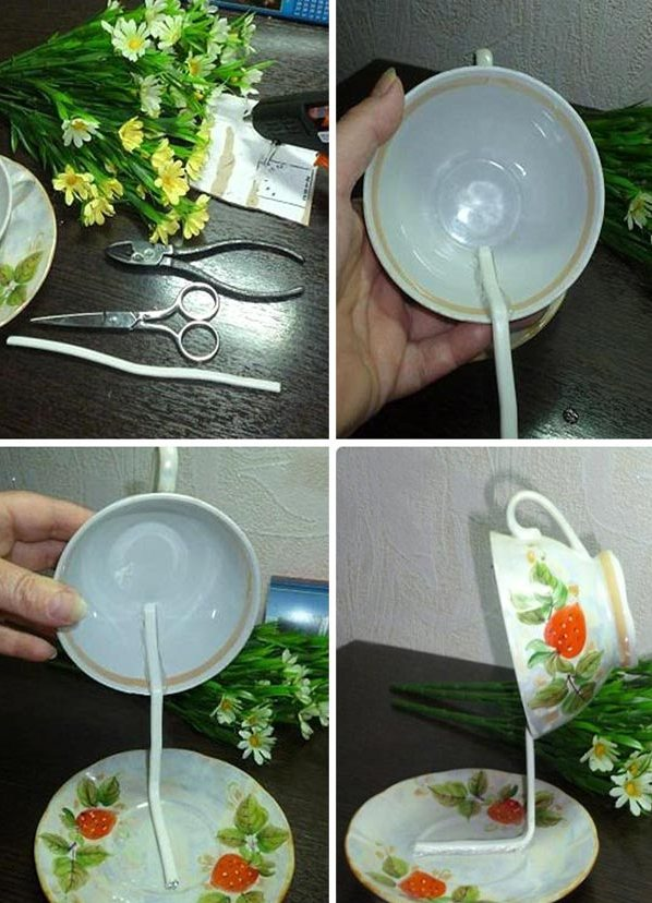 Сделанная своими руками чашка