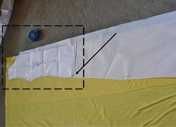 Как скроить юбку для беременных своими руками 50
