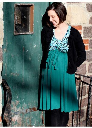 Легкое платье своими руками для беременных 65