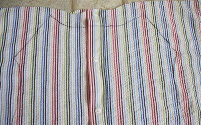 Платье из мужской рубашки6