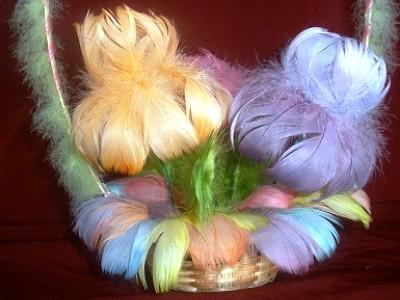 Поделки из перьев