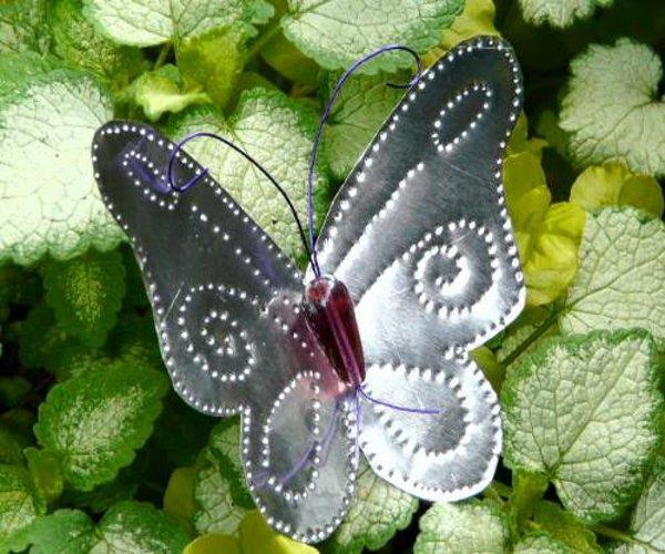 Как сделать бабочку в банке