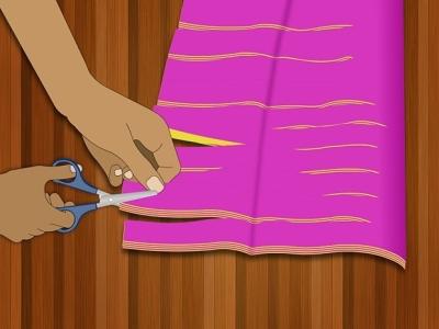 Помпоны для черлидинга из пакетов своими руками