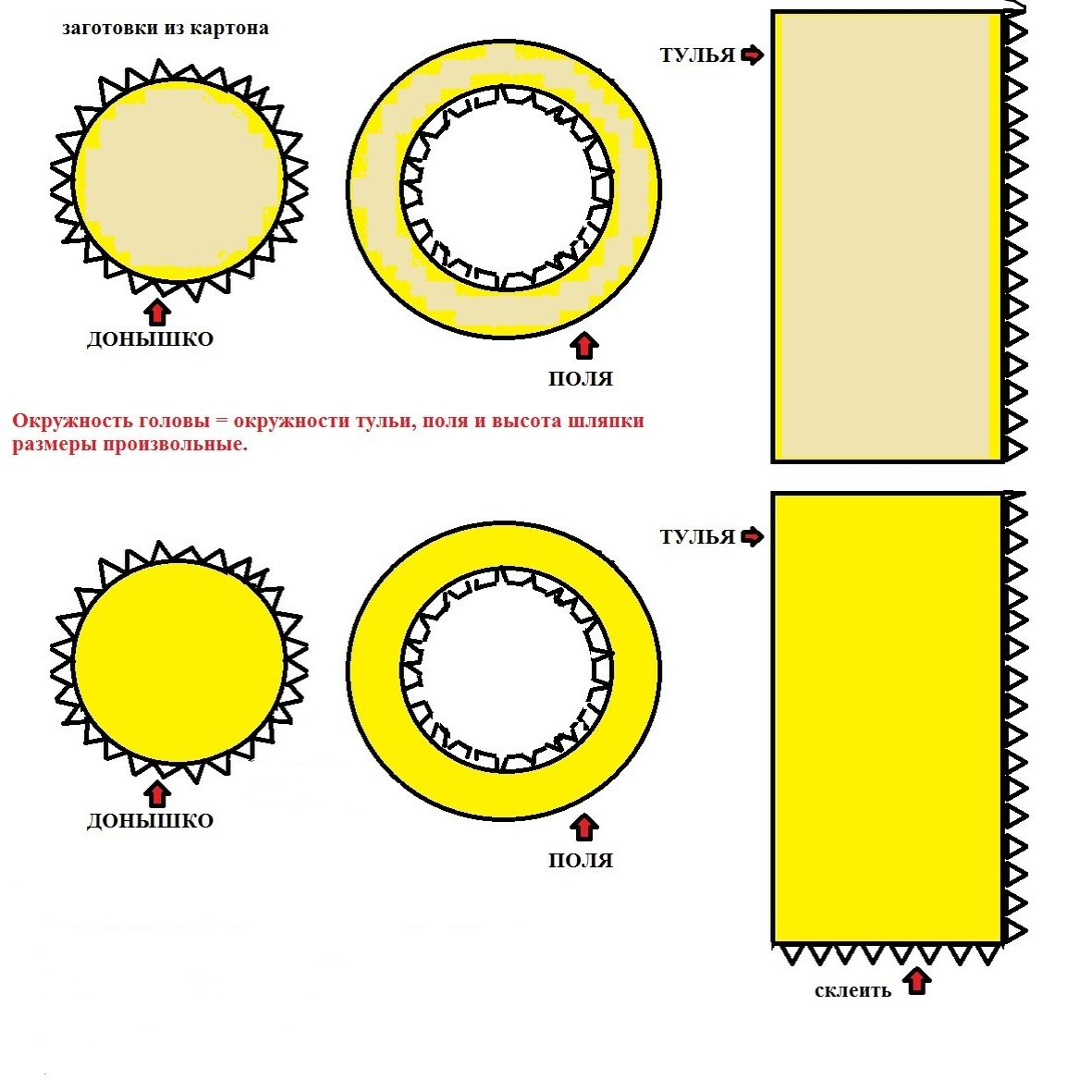 Как сделать шляпу цилиндр из бумаги маленькую