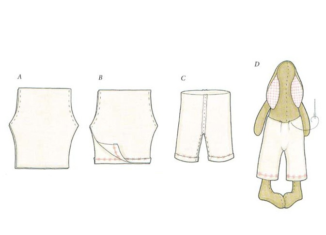 Как сшить своими руками кролик-тильда