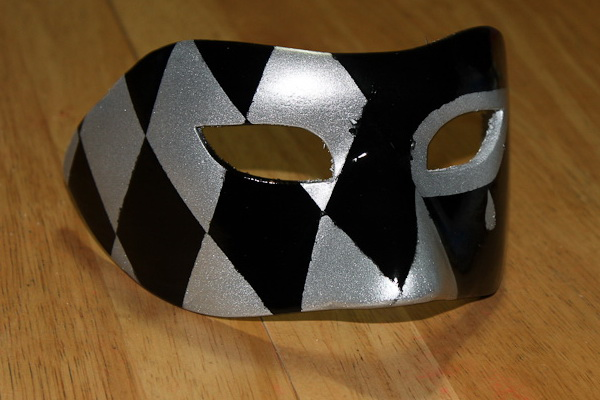 как сделать черную маску закрывающую рот