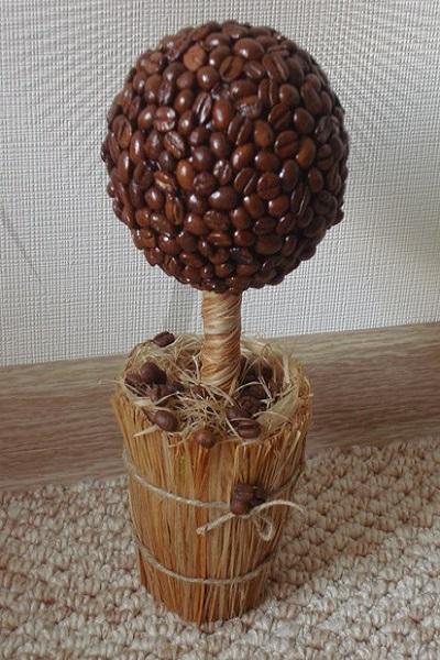 Кофейное дерево своими руками мастер классов
