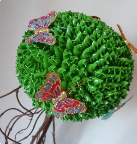 Топиарий из макарон фото