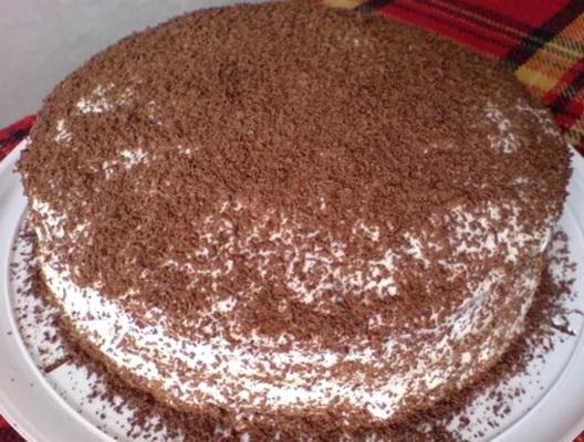 Рецепт простого торта в домашних условиях в духовке