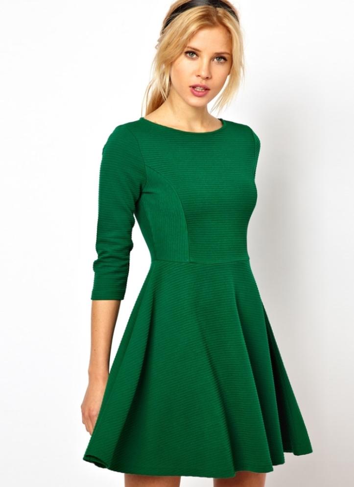 Фото красивых трикотажных платьев