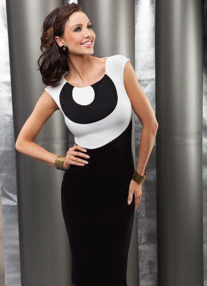 Трикотажные платья 2013 1