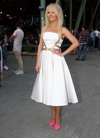 Фото туфли белое платье