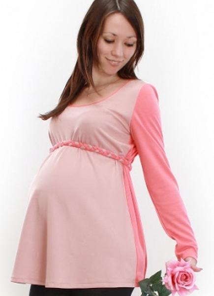 Вязаные туники для беременных