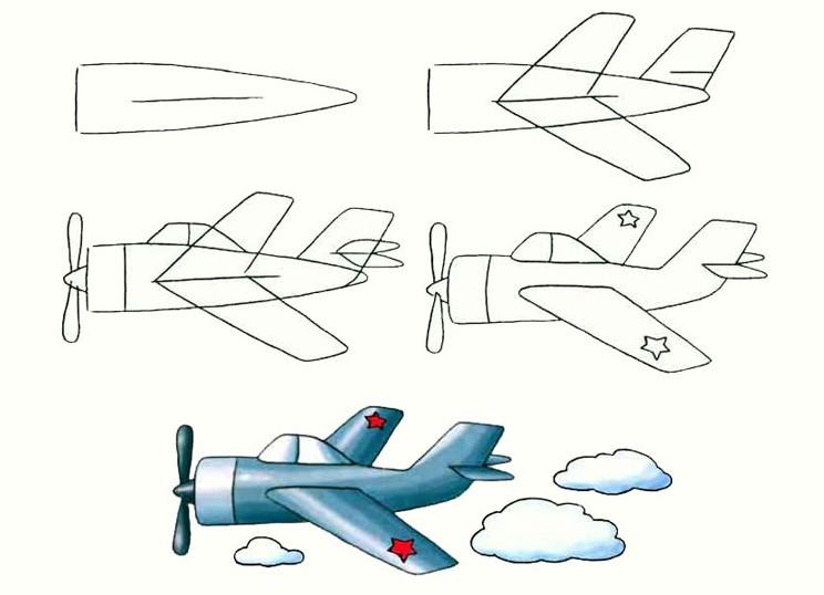 Пошаговый расчет самолета